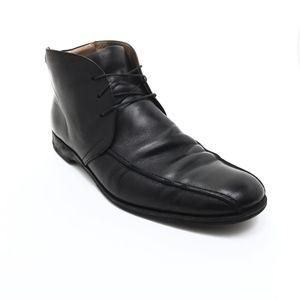 COACH Black Cromwell Leather Men's Shoes Size 9D